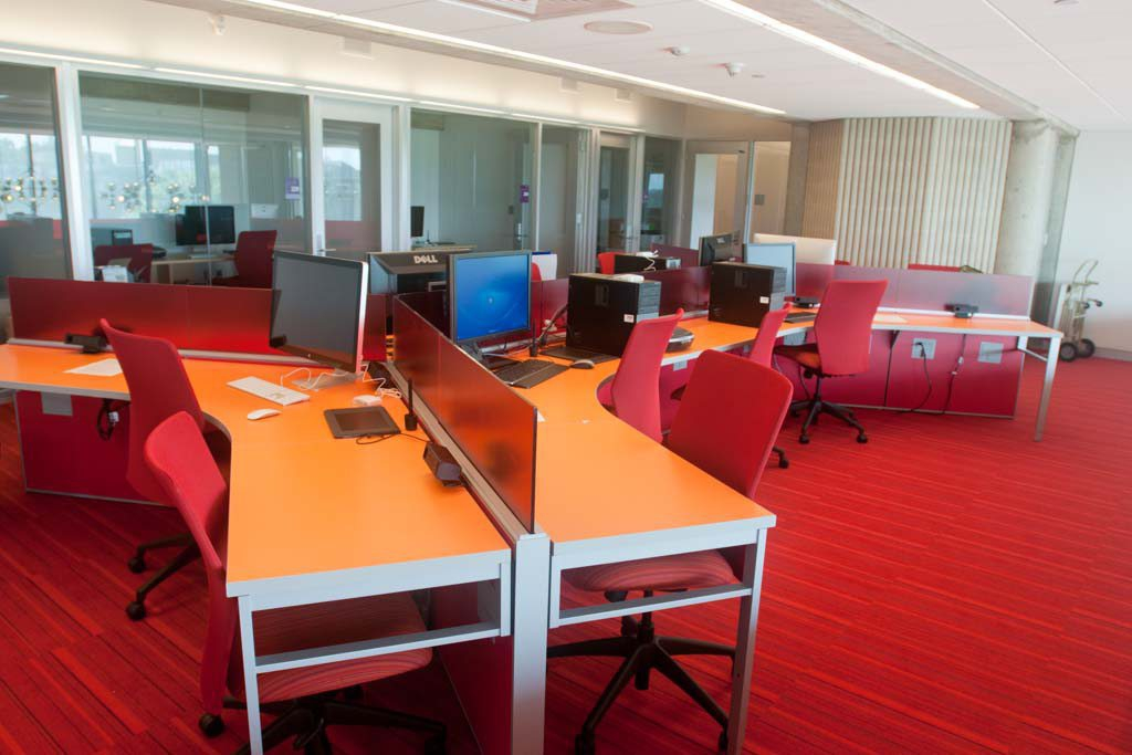Picture of the digital media center