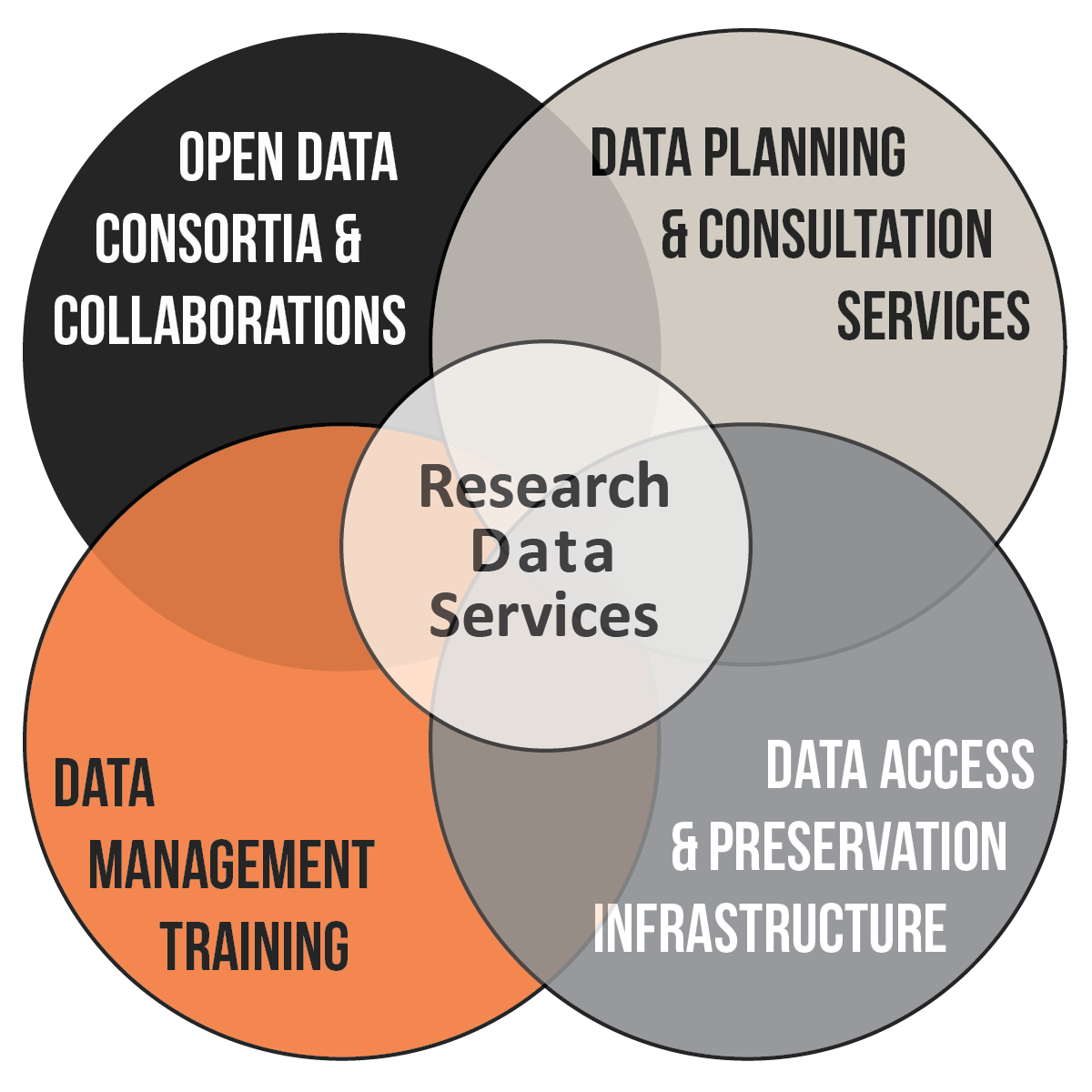OSU Rsearch Data Services Areas