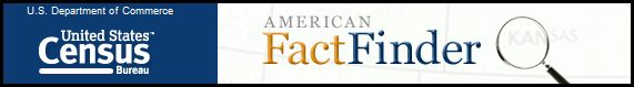 US Cencus Bureau Fact Finder