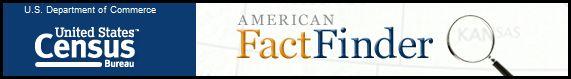 US Census Bureau Fact Finder