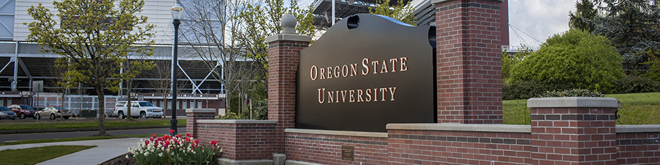 oregon state university sign