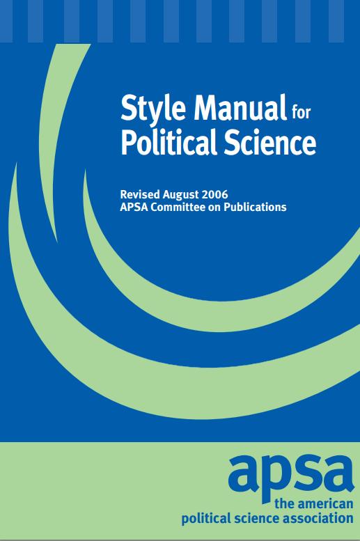 APSA Manual