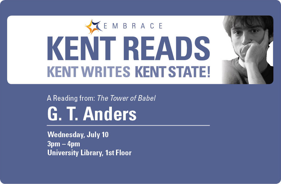Kent Reads with G. T. Anders