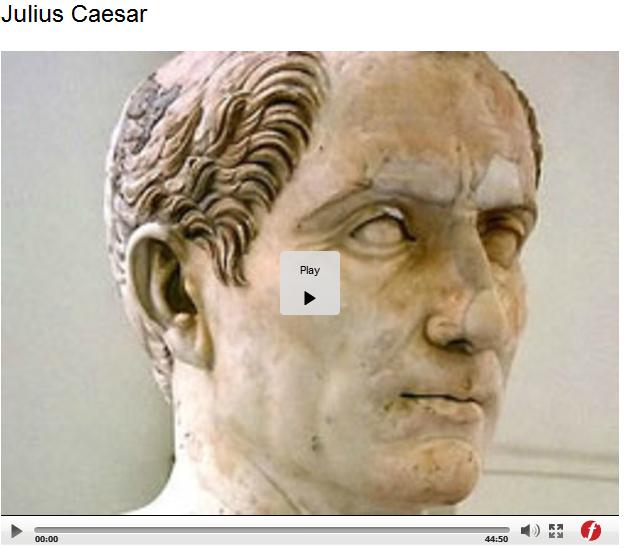 Julius Caesar Video
