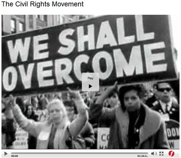 Civil Rights Movement Video