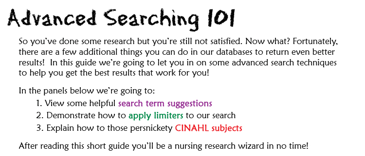 Graphic: Introduction to this research guide.