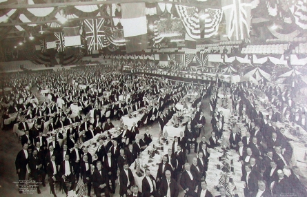Lincoln Centennial Banquet 1909