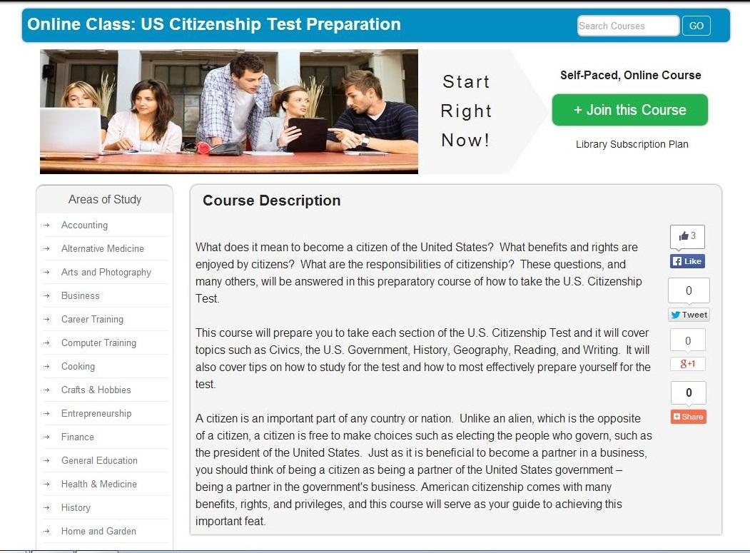 Universal Class Citizenship