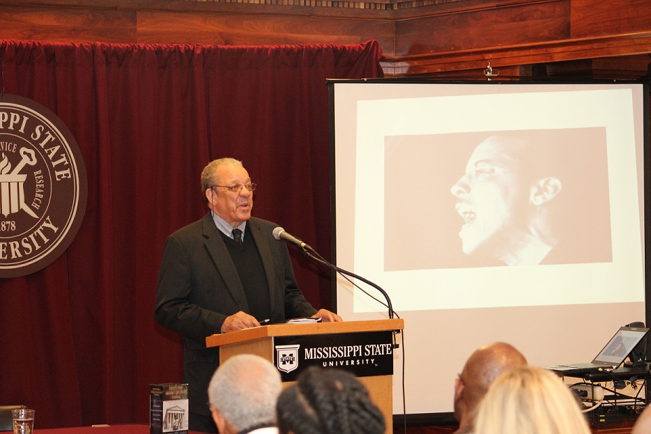 Former Freedom Rider Dave Dennis talks to MSU audience about his continued involvement in the long Civil Rights movement.