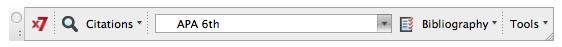X7 Toolbar