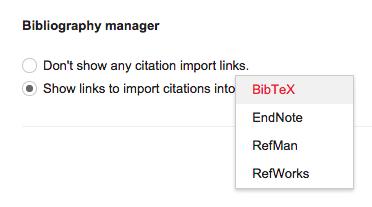 GoogleScholar BibManager
