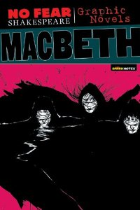'Macbeth' graphic novel book cover