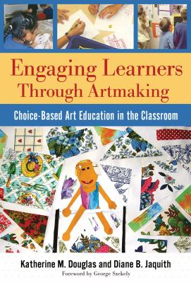 Engaging learners through artmaking bookcover