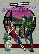 'As you like it' graphic novel bookcover