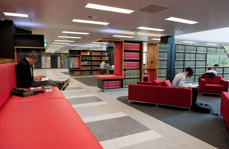 Baillieu library ground floor