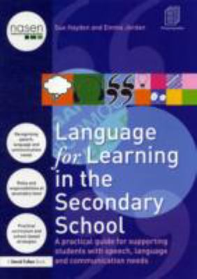 Language for learning in the secondary school bookcover