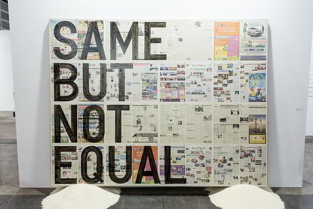 SAME BUT NOT EQUAL