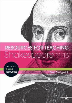 Resources for teaching Shakespeare bookcover