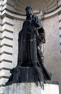 Statue erected in Prague of the Maharal (ztsl)