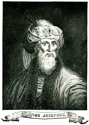 Portrait of Flavius Josephus (37-100 CE), Jewish priest and historian (Joseph ben Matityahu in Hebrew)