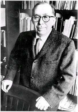 Photo of Leo Strauss, Philosopher, Jewish Emigre from Germany to University of Chicago where he taught