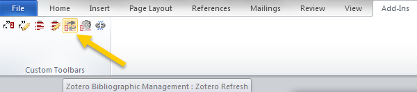 Zotero Refresh