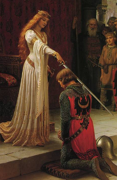 Image showing The Accolade by Edmund  Blair Leighton