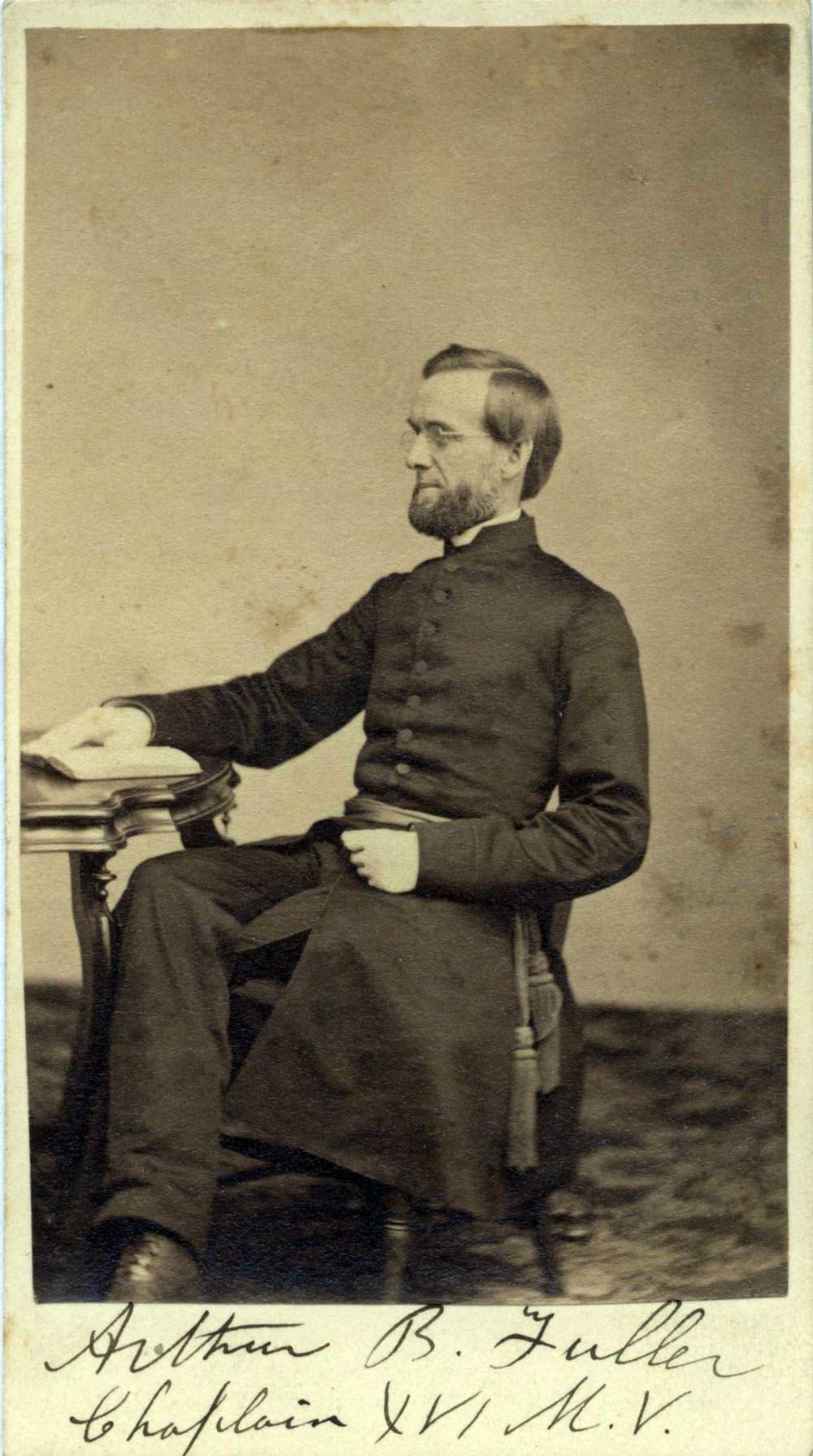 Photo of Chaplain Fuller