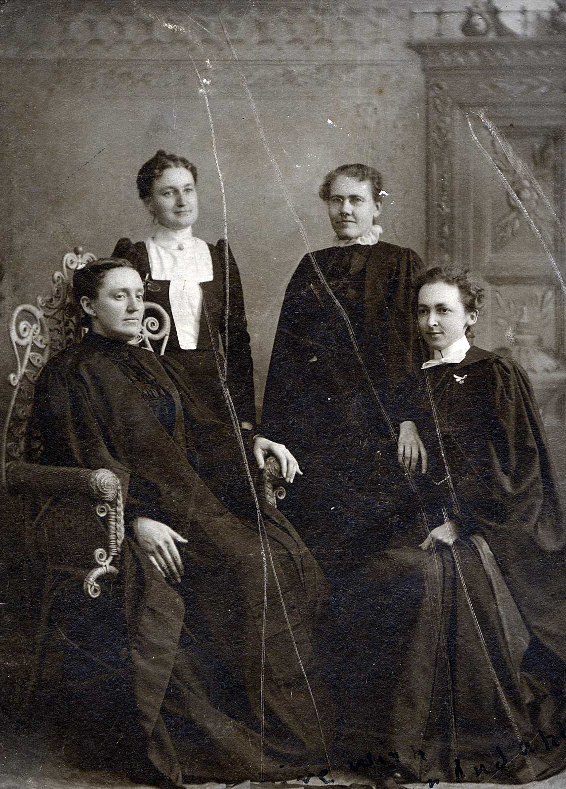 Four women ministers, 1901. St. Lawrence University