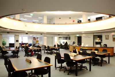 Image of Fryer Library reading room
