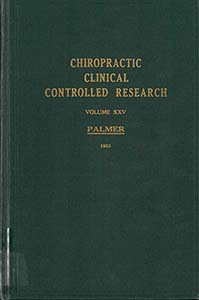 Chiropractic Clinical Controlled Research