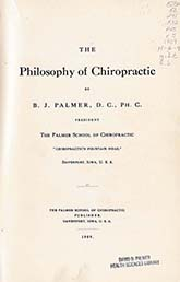 The Philosophy of Chiropractic