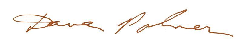 David Palmer signature