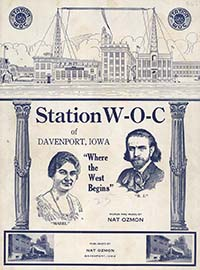 Station W-O-C sheet music cover