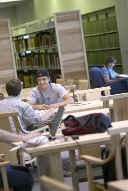 Davis Library Reading Room
