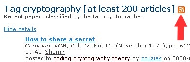 RSS Tag Cryptography