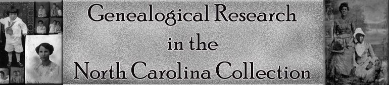 Genealogical Research in NCC