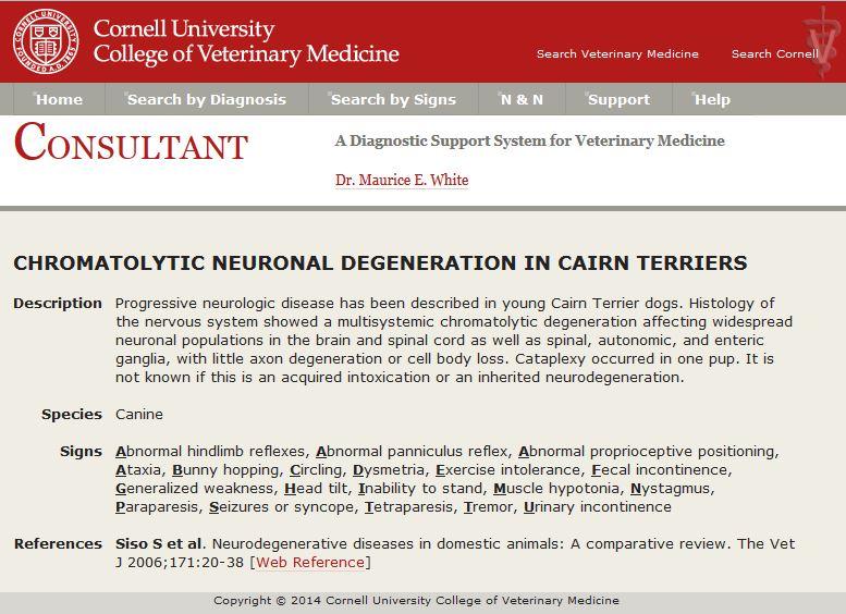 Consultant Diagnosis