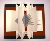 Artists Book --Vita Defuncta by Maria G. Pisano