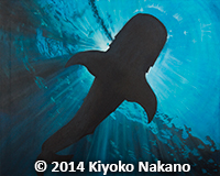 Painting_Kiyoko_whale