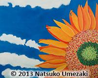 painting_Natsuko_sunflower