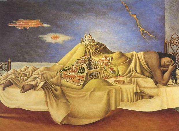 Malinche's Dream by Ruiz
