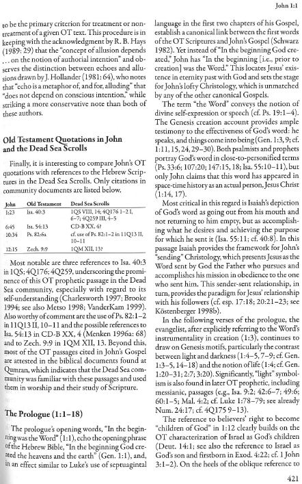 Commentary on the New Testament use of the Old Testamen