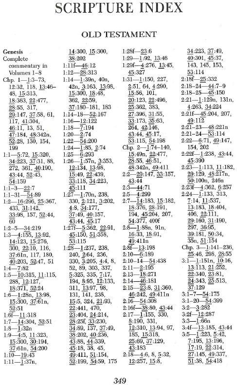 Scripture Index