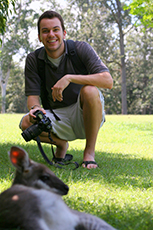 Photo of Student with Camera