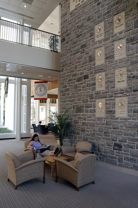 Photo of Waidner-Spahr Library Circulation Area