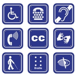 Logos for Various Accessibility Needs