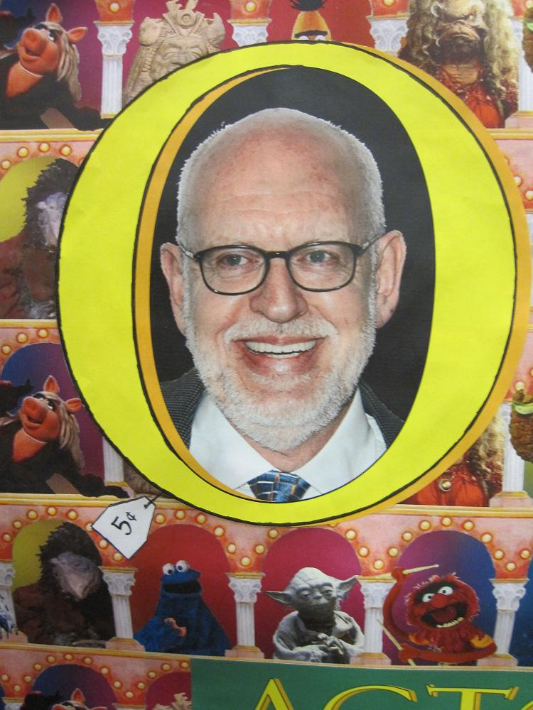 """It's the Undergraduate Library Exhibit!  With our very special guest star, Frank Oz!"""