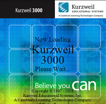 Kurzweil 3000 Login Screen