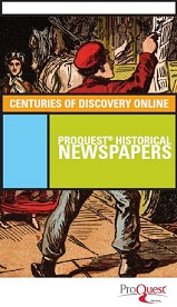 Proquest Historical Newspapers